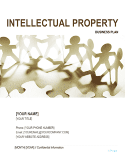 Intellectual Property Business Plan