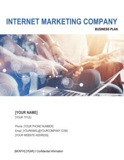 Internet Marketing Company Business Plan