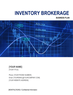 Inventory Brokerage Firm Business Plan