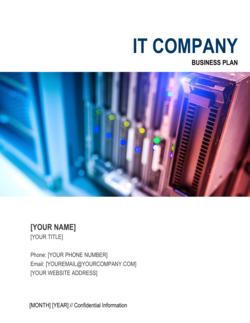 IT Company Business Plan