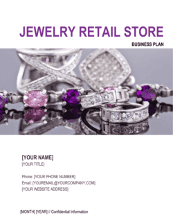 Jewelry Retail Store Business Plan
