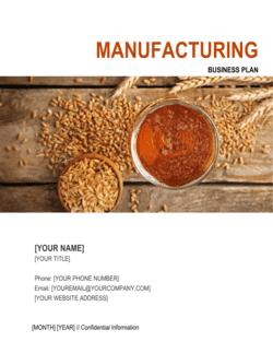 Manufacturing Business Plan 5