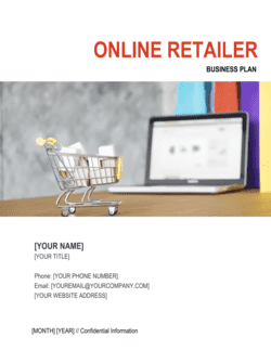 Online Retailer Business Plan