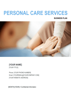 Personal Care Services Business Plan