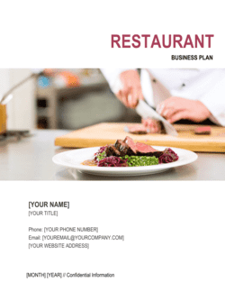 Restaurant Business Plan 3