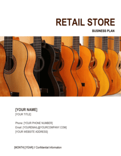Retail Store Business Plan 3