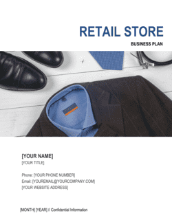 Retail Store Business Plan 4