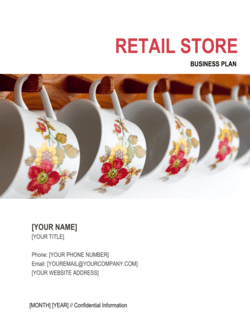 Retail Store Business Plan 5