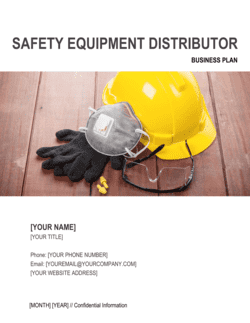 Safety Equipment Distributor Business Plan