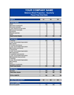 Balance Sheet_Quarterly