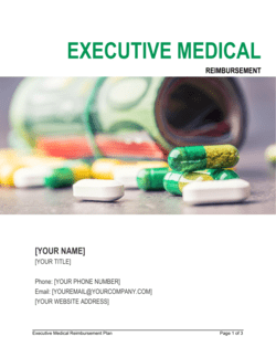 Executive Medical Reimbursement Plan