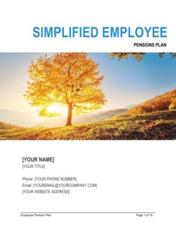 Simplified Employee Pensions Plan