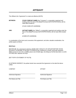 Affidavit Of Support Sample Letter Pdf from templates.business-in-a-box.com